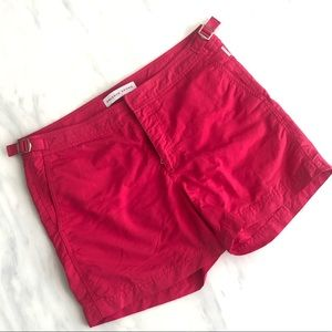 Men's pink swim trunks